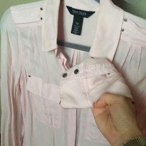 White House Black Market Tops - White house black market silk blouse